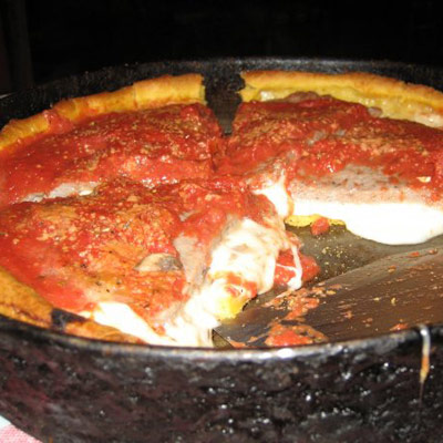 Ginos East Deep Dish Pizza Chicago