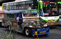 Jeepney+bus