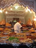 Moroccan sweet shop