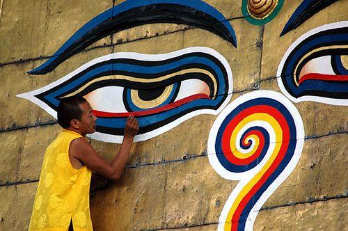 Nepali_Monk_God_Graffiti